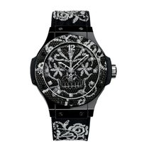 Hublot Big Bang Broderie Keramik 41mm Schwarz