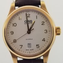 Oris Classic Gold/Steel 42mm White Arabic numerals United States of America, Alabama, Oranjestad