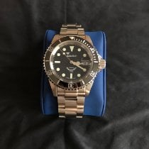 Squale Steel 40mm Automatic 1545 pre-owned