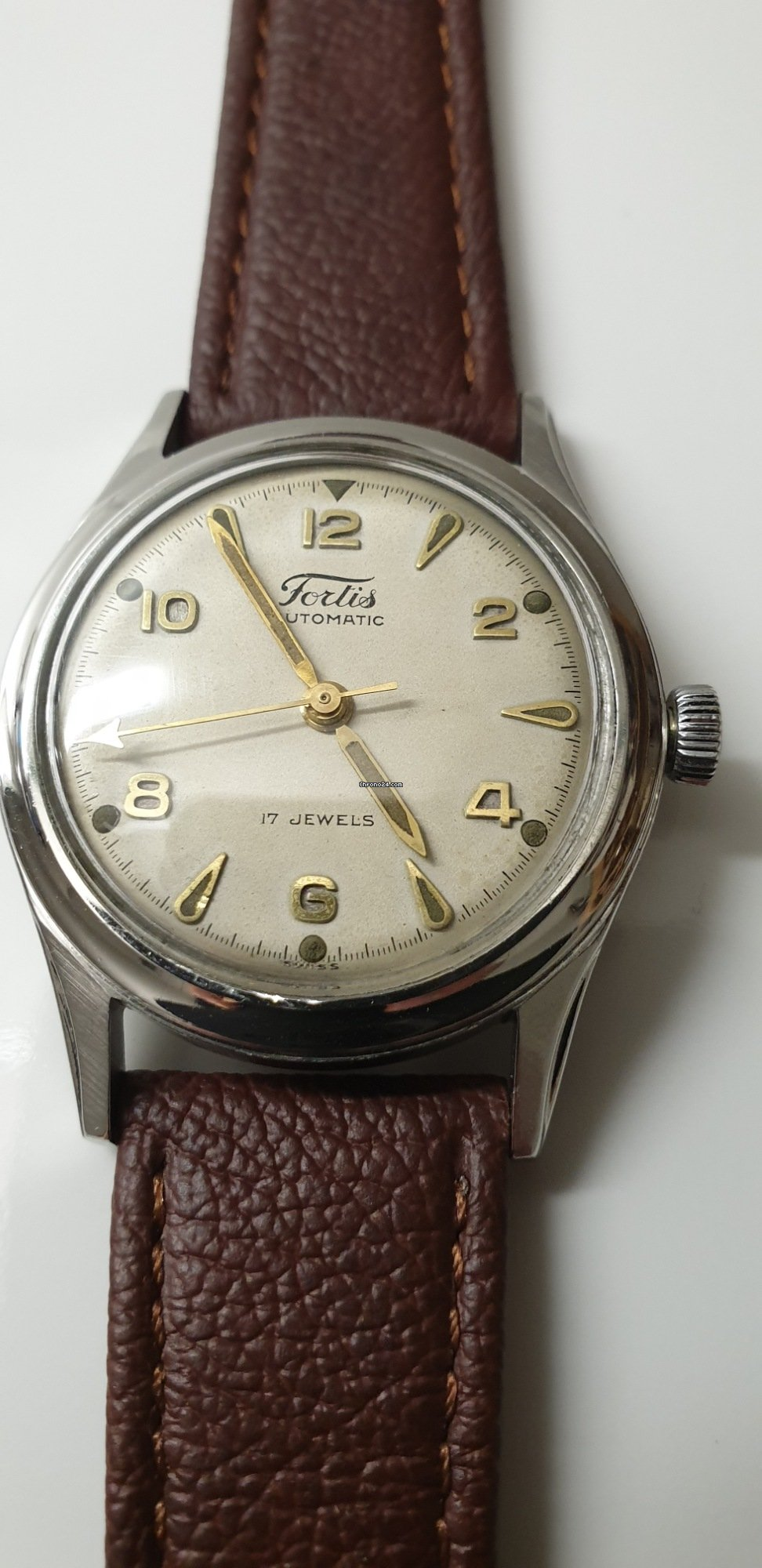 1d3cb8c6f Fortissimo Automatic 17 Jewels za 3 718 Kč k prodeji od Soukromý prodejce  na Chrono24