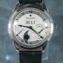 Pequignet Steel 42mm Automatic 9010437CG pre-owned