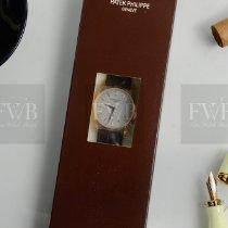 Patek Philippe Rose gold Manual winding Silver No numerals 37mm new Calatrava