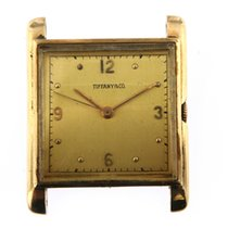 Tiffany Yellow gold Manual winding pre-owned