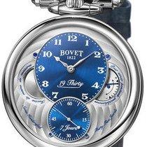 Bovet Stal Automatyczny Niebieski 42mm używany
