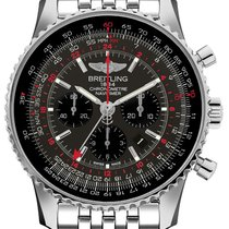 Breitling Navitimer GMT new Automatic Chronograph Watch with original box AB04413A-F573-453A