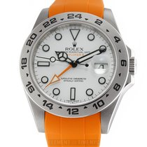 Rolex Explorer II Steel 42mm White United States of America, New York, New York