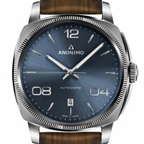 Anonimo Steel Automatic AM-4000.01.103.W22 new