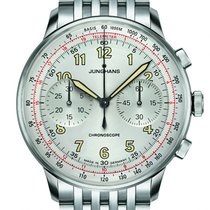 Junghans Meister Telemeter Steel 40.8mm Silver United States of America, New Jersey, Cherry Hill