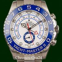 Rolex Yacht-Master II Ατσάλι 44mm Άσπρο Xωρίς ψηφία Ελλάδα, Athens