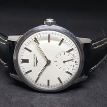 Longines Steel 35mm Manual winding pre-owned India, MUMBAI