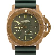 Panerai Special Editions Bronze 47mm Green No numerals