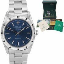 Rolex Air King Precision Steel 34mm Blue United States of America, New York, Lynbrook