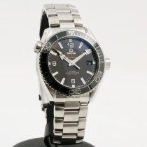 Omega Seamaster Planet Ocean Steel 43mm Black Arabic numerals
