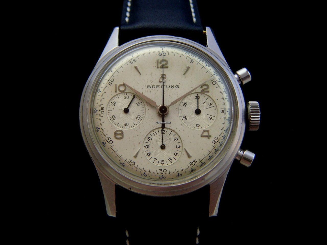 breitling vintage chronograph 50 39 s 178 caliber ref 765 verkauft auf chrono24. Black Bedroom Furniture Sets. Home Design Ideas
