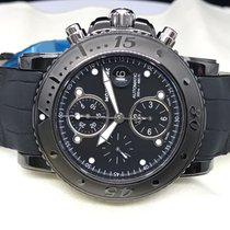 Montblanc Black PVD Coating Chronograph watch