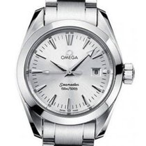 Omega Ladies Seamaster Aquaterra 2577.30.00 Steel 29MM Date