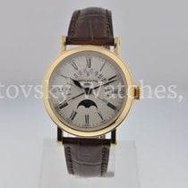 Patek Philippe Yellow gold Automatic 38mm pre-owned Perpetual Calendar