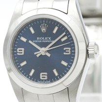 ロレックス (Rolex) Oyster Perpetual 76080 K Serial Automatic Ladies...