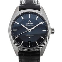 Omega Constellation Globemaster 39mm Co-Axial Automatic Leather