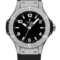 Hublot Big Bang 38 mm Stal 38mm Czarny