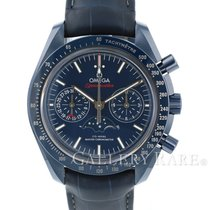 オメガ Speedmaster Moonwatch Moonphase Blue Ceramic 44.25MM