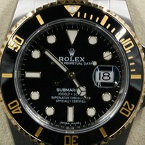 Rolex new Automatic Luminescent Hands Rotating Bezel Screw-Down Crown Luminous indexes 40mm Gold/Steel Sapphire Glass