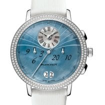 Blancpain Women Steel 38.6mm Mother of pearl