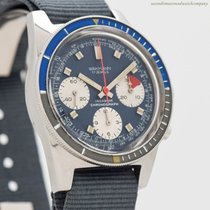 Wakmann Chronograph 40mm Manual winding 1970 pre-owned Blue