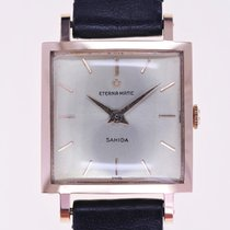 Eterna Rose gold Automatic Silver No numerals 23mm new Matic