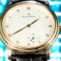 Blancpain Villeret (Submodel) pre-owned 34mm Yellow gold