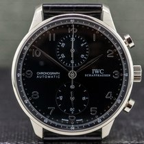 IWC IW371413 White gold Portuguese Chronograph 41mm pre-owned United States of America, Massachusetts, Boston