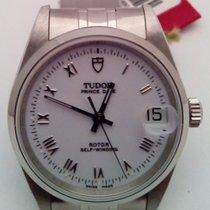 Tudor Prince Date Steel 32mm White Roman numerals