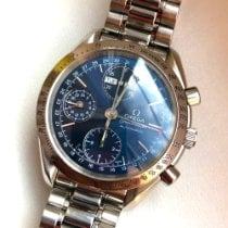 Omega 3523.80.00 Steel Speedmaster Day Date 39mm pre-owned