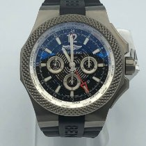 Breitling Bentley B04 GMT Titanio 49mm Negro