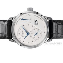 Glashütte Original PanoReserve Steel 40mm Silver No numerals United States of America, Florida, Aventura