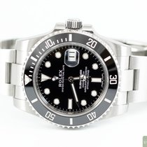 Rolex Submariner Date Steel 40,00mm Black No numerals