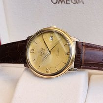 Omega Yellow gold 36.5mm Automatic De Ville Prestige pre-owned