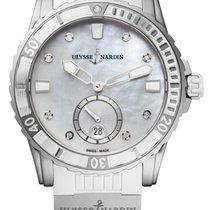Ulysse Nardin Женские часы Lady Diver 40mm Механические новые Часы с оригинальными документами и коробкой 2018