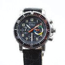 Zenith pre-owned Chronograph Black