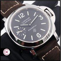 Panerai Luminor Marina Steel 44mm Black Arabic numerals