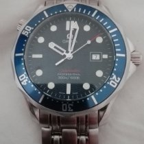 Omega 2221.80.00 Steel 2013 Seamaster Diver 300 M 41mm new