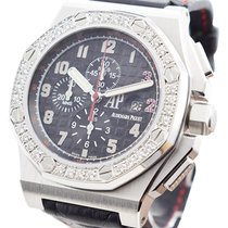 Audemars Piguet Automatic Black 48mm pre-owned Royal Oak Offshore Chronograph
