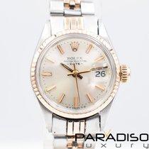 Rolex Oyster Perpetual Lady Date Золото/Cталь 26mm