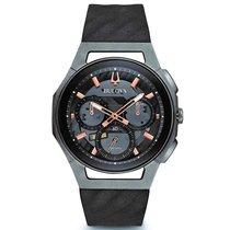 Bulova Men's 98A162 Curv Chronograph Watch