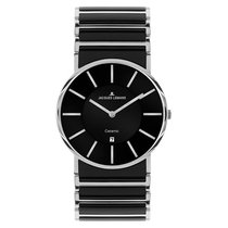 Jacques Lemans High Tech Ceramic York Steel 38mm Black