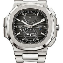 Patek Philippe Nautilus Travel Time Chronograph Stainless Steel