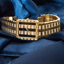 Piaget Polo Yellow gold 26.5mm Black No numerals United States of America, New York, New York, New York