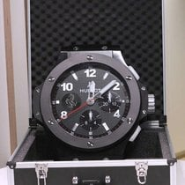 Hublot Big Bang Chrono All Black Ferrari Wall Clock