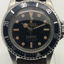Rolex 5512 Submariner 4-Line tropical gilt