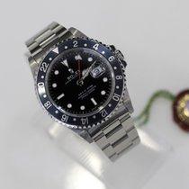 Rolex GMT-Master Stainless Steel Navy Bezel